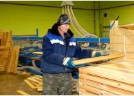 Укладчик пиломатериалов, деталей и изделий из древесины