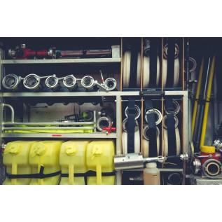 Безопасные методы и приемы применения огнезащитных составов при производстве огнезащиты строительных конструкций