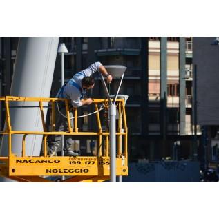 Безопасные методы и приемы работы для работающих в рабочей платформе мобильной подъемной рабочей платформы