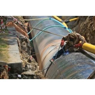 Обучение рабочих правилам и приемам безопасного производства теплоизоляционных работ ПИ-трубопроводов с системой ОДК подземной и наземной прокладки с применением установок с газовыми горелками